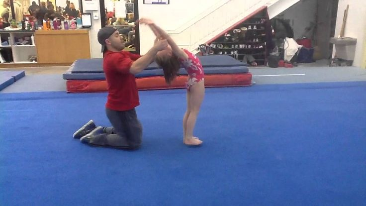 Learning Front Handsprings