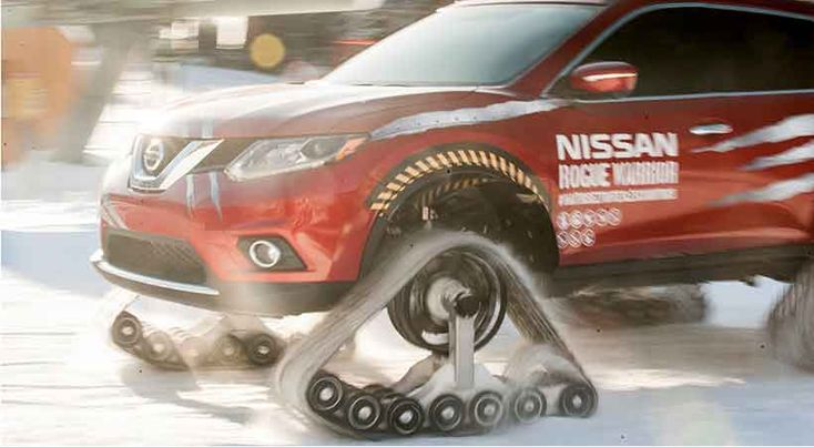 Nissan Rouge Warrior, Test Drive extremo en la nieve - http://autoproyecto.com/2016/01/nissan-rouge-warrior-test-drive-extremo-en-la-nieve.html?utm_source=PN&utm_medium=Pinterest+AP&utm_campaign=SNAP