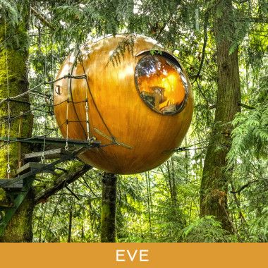 Tom Chudleigh rents his ecospheres for $175 a night and is searching for partners with land.