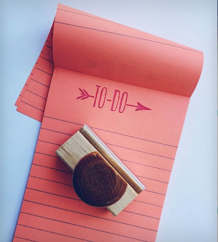 """""""To-Do"""" Stamp 