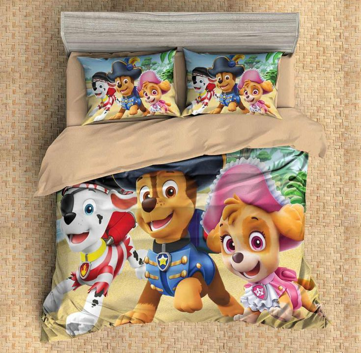 3D Customize PAW Patrol Bedding Set Duvet Cover Set Bedroom Set Bedlinen 1)100% Microfiber,Soft and Comfortable. 2)Environmental Dyeing,Never Lose Color. 3)2017 Newest Design,PAW Patrol,Fashion and Personality.