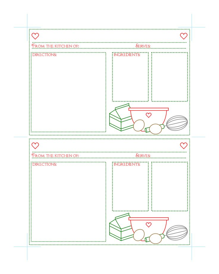 527 best recipe cards images on Pinterest | Recipe cards, Printables ...
