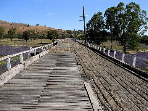 Old Gundagai Road Bridge, NSW.