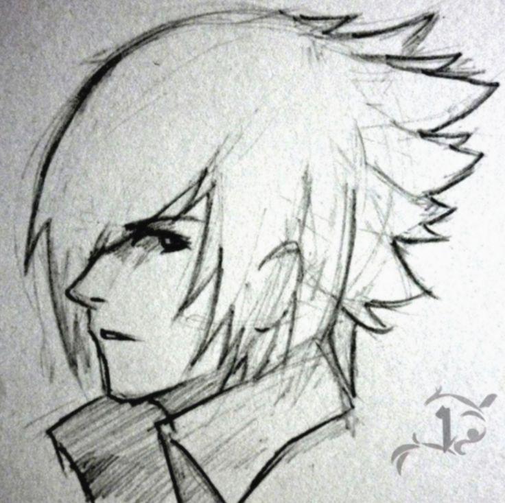 Anime sketch easy boy mha myheroacademia