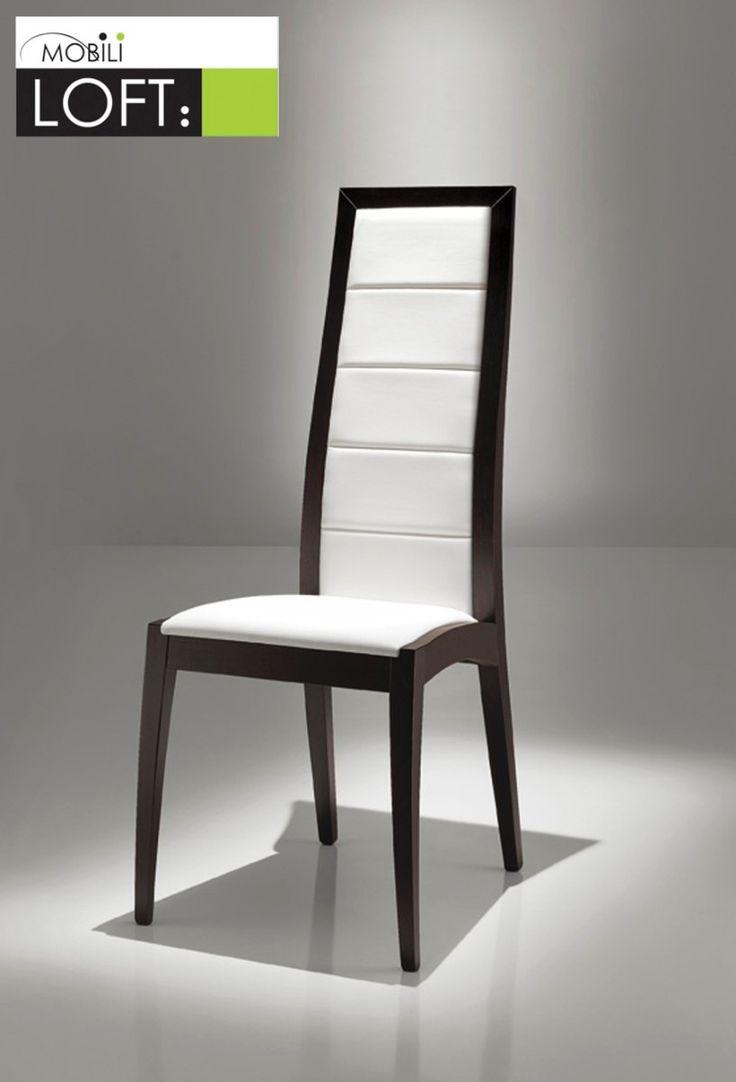 17 mejores ideas sobre sillas modernas de comedor en for Sillas lacadas en blanco comedor