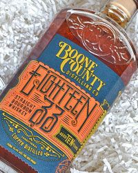 Boone County Distilling Co. Eighteen 33 Straight Bourbon Whiskey 10 yr.