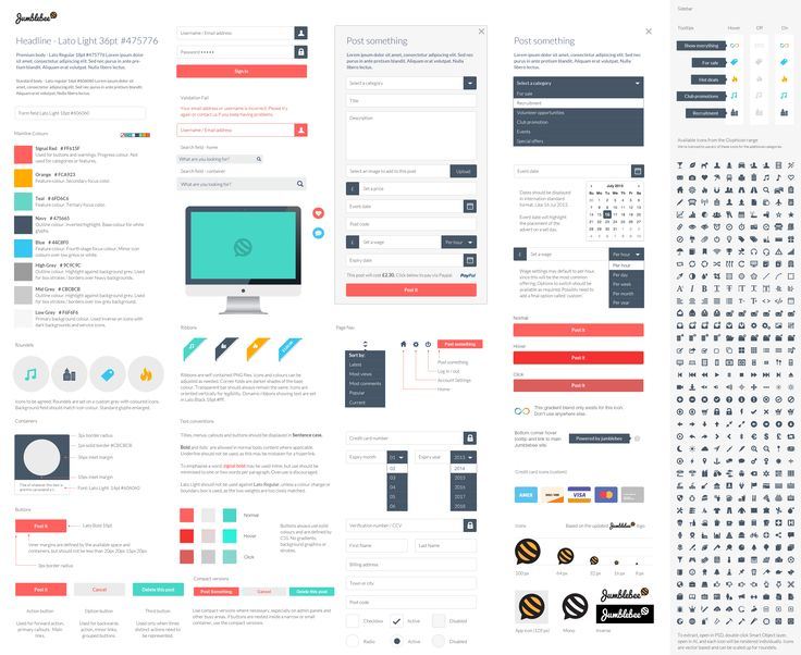 22 best UI - Style Guides images on Pinterest Style guides - sample user manual template