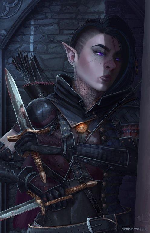 [Art] Kithree Graygrain, halfling assassin : DnD