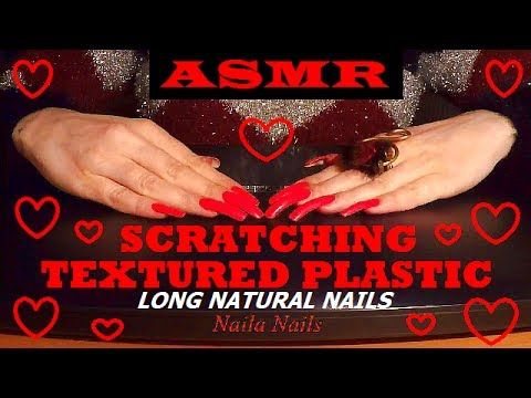 ASMR - SCRATCHING [textured plastic] - CREEPY NOISE + HAND MOVEMENTS AND...