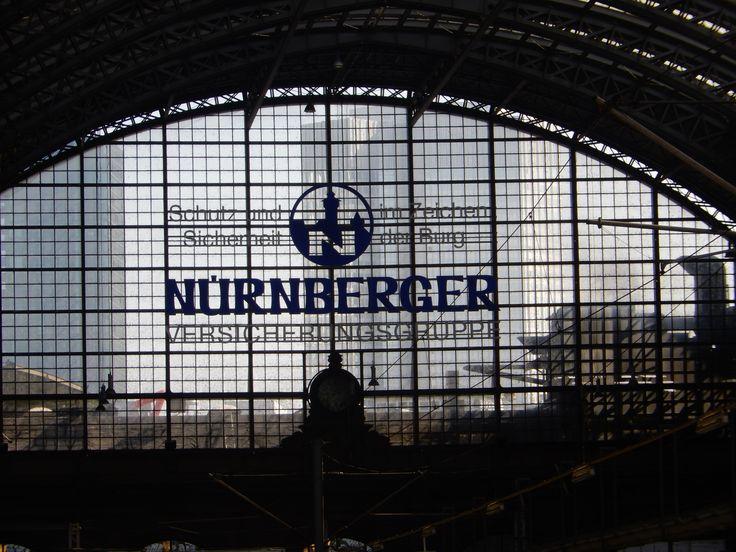 Hauptbahnhof Frankfurt, April, 2015. Photo by Mark MS.
