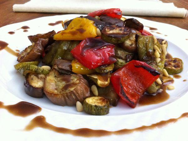 Ψητά λαχανικά με σως από πετιμέζι!