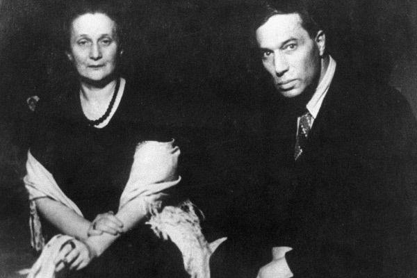 Анна Ахматова и Борис Пастернак