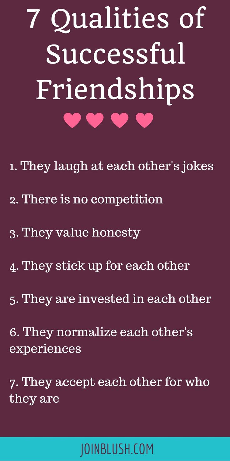 qualities for successful relationship