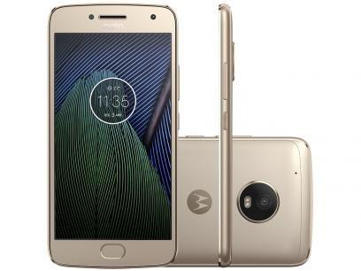 """Smartphone Motorola Moto G5 Plus 32GB Ouro - Dual Chip Câm. 12MP + Selfie 5MP Tela 5.2"""" Full HD em até 10x de R$ 129,99 sem juros no cartão de crédito ou R$ 1.104,92 à vista (14% Desc. já calculado.) https://www.magazinevoce.com.br/magazinedacasacom/p/smartphone-motorola-moto-g5-plus-32gb-ouro-dual-chip-cam-12mp-selfie-5mp-tela-52-full-hd/151667/?utm_source=dacasacom&utm_medium=smartphone-motorola-moto-g5-plus-32gb-ouro-dual-ch&utm_campaign=copy-paste&utm_content=copy-paste-share"""