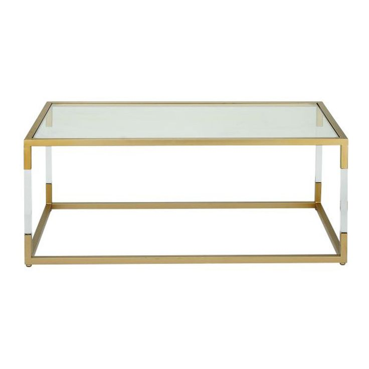 17 best ideas about acrylic coffee tables on pinterest for Overstock acrylic coffee table