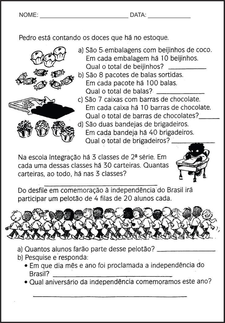 SOS PROFESSOR-ATIVIDADES: Multiplicação2                                                                                                                                                      Mais