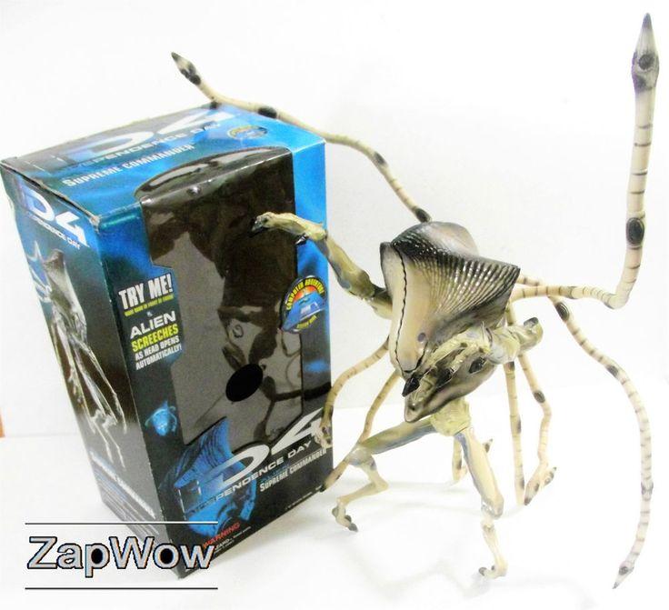 INDEPENDENCE DAY Alien Supreme Commander SOLD £39.99