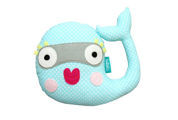 Hey, I found this really awesome Etsy listing at https://www.etsy.com/listing/255346332/miss-whale-with-dots-plush-toy-cute