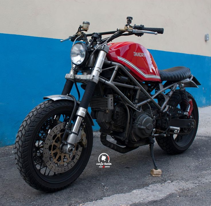 """Hooligan"" Ducati Monster by Cafe Twin"