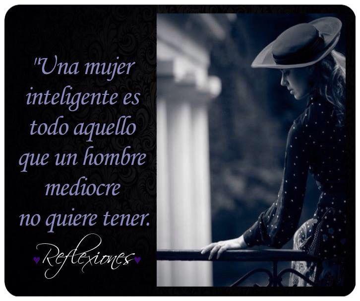 Una mujer...