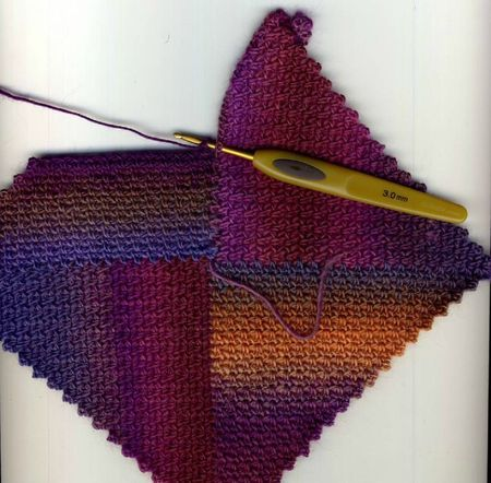 Crochet Modular Chart: Afghans, Idea, Crafts Crochet, Color, Crochet Tutorials, Crochet Modular, Crochet Instructions, Modular Crochet, Crochet Knits