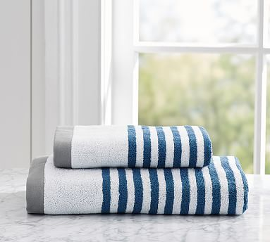 Bathroom Hand Towels 187 best *bath towels > striped & patterned bath towels* images on