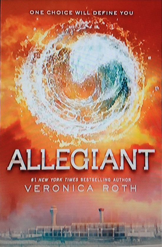 Reading For Sanity : A Book Review Blog: Alligiant - Veronica Roth