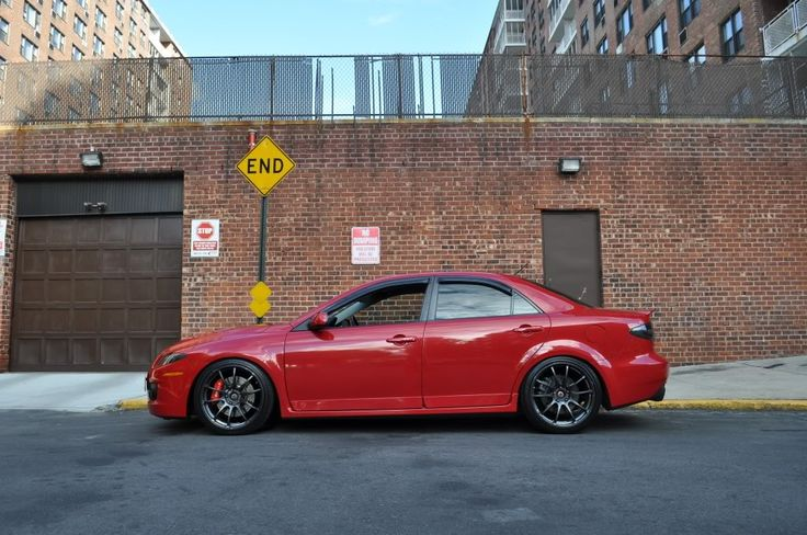 Red MazdaSpeed 6