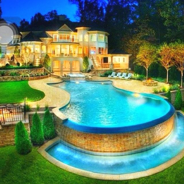 Dream backyard | Feast for the Eyes and Heart | Pinterest on Dream House Backyard id=48610