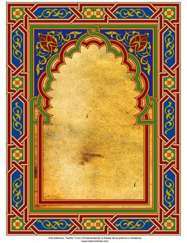 http://fotografia.islamoriente.com/en/content/islamic-art-turkish-tazhib-ornamentation-through-painting-and-miniature-frame-93
