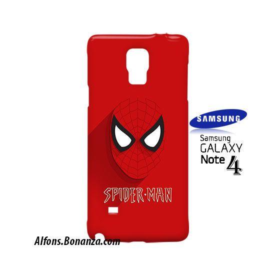 Spiderman Superhero Samsung Galaxy Note 4 Case