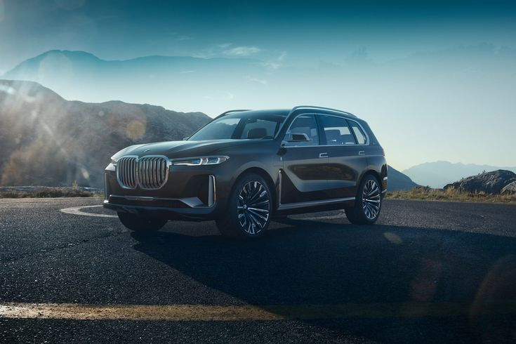 BMW unveils spacious X7 concept car as part of expanded luxury vehicle range