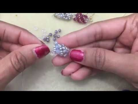 Russian Spiral Stitch Demo--Lefthand Beading Tutorial - YouTube