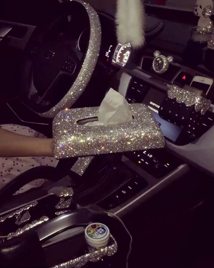 Set Auto Strass In 2020 Bling Car Accessories Car Bling Girly Car Accessories