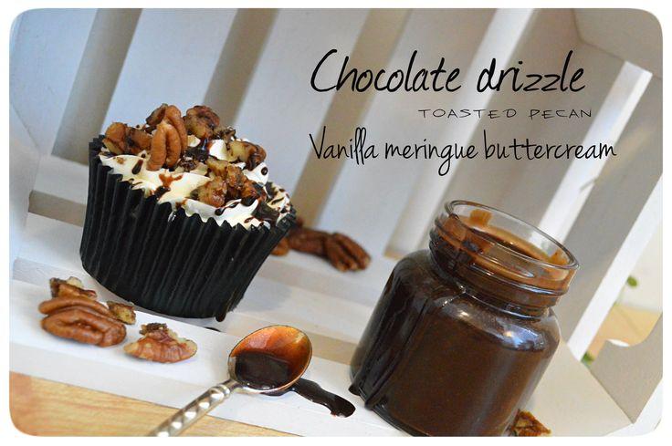 Skafferi-rensning - kola/vanilj-cupcakes med pecannötter och annat gött