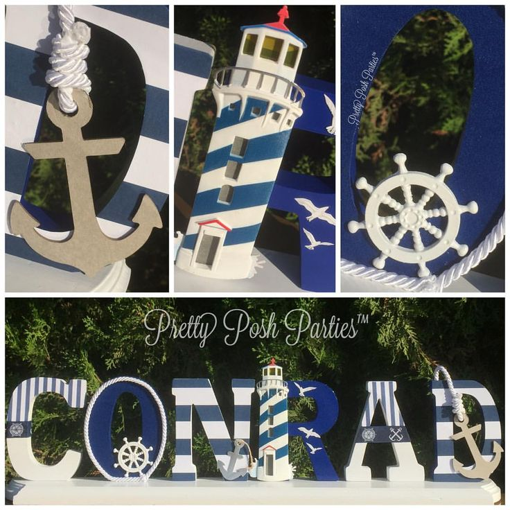 Darling Nautical theme party
