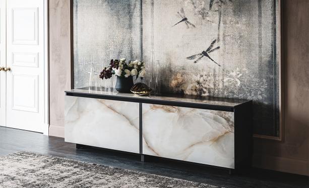 Europa keramik Piękno w klasycznym wydaniu komoda do salonu, jadalni komoda włoskiej marki