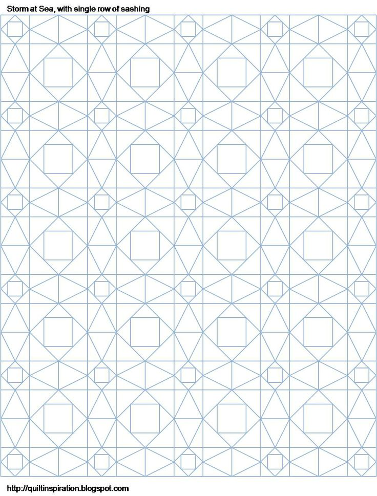 Quilt Inspiration: Storm-at-Sea Quilts, and free block diagrams