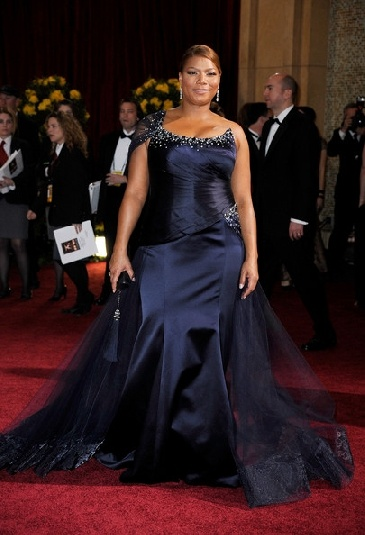 plus size prom dresses, Queen Latifa always shows her dresses well...She has had a Breast reduction because of them hurting her back and shoulders....She always looks stunning....Take a clue from her, wear your clothes well and be sexy...