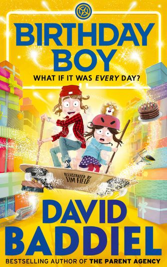 eBook - Birthday Boy by David Baddiel. This is the story of Sam Green, who really, really, really loves birthdays. He loves the special breakfasts in bed. The presents. The themed parties. Blowing out the candles on his cake. Everything.He is so excited about his 11th birthday, in fact, that he wishes it was his birthday every day.So, at first, it's quite exciting when his birthday happens again the next morning. And again. And again. And again…But it's not long before things start to go…