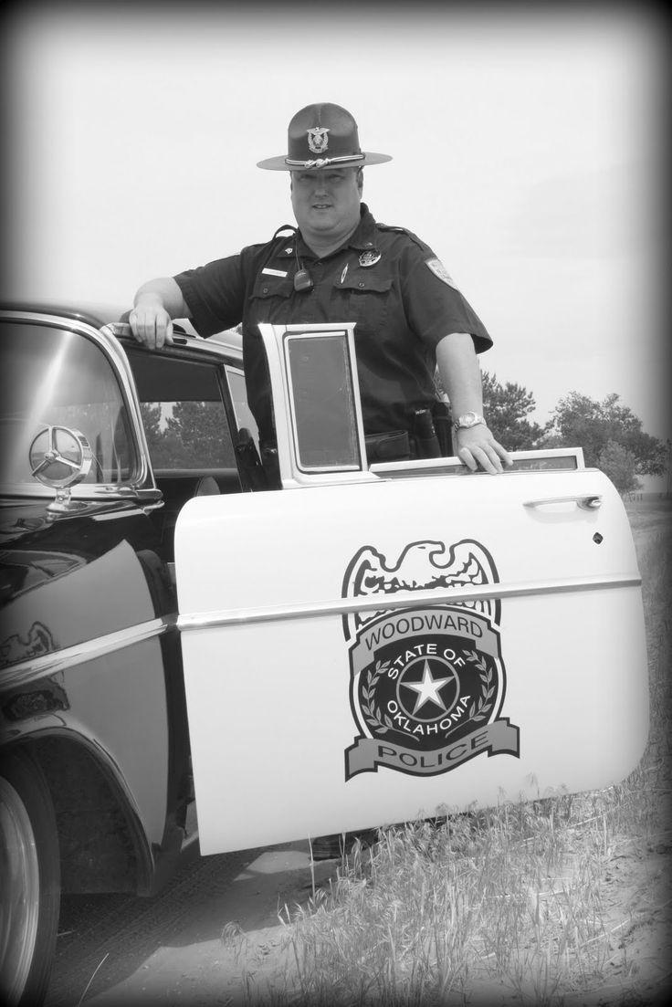Life Captured by Katy: Vintage Woodward police car