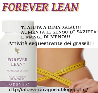 ALOE VERA RAGUSA FOREVER LIVING PRODUCTS: FOREVER LEAN AIUTO PER DIMAGRIRE