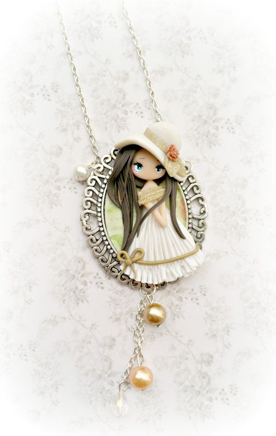 dolly dream necklace di lapetitedeco su Etsy