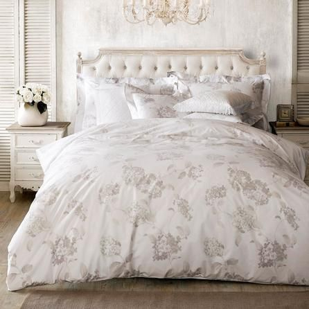 Holly Willoughby Hydrangea 100% Cotton Reversible Duvet Cover