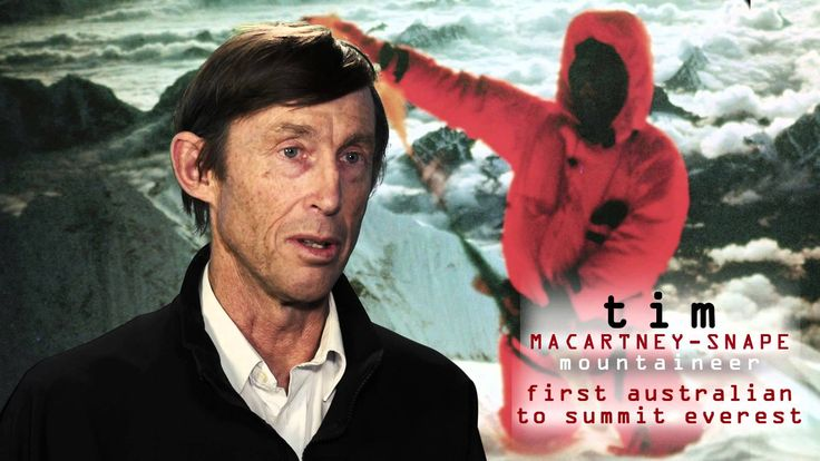 Tim Macartney-Snape: The Story of the 1984 Australian Expedition on Moun...