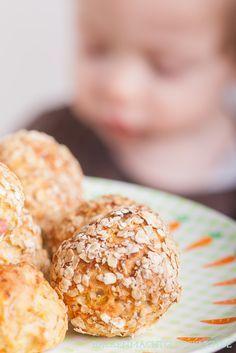 Gesunder Knabbersnack für Babys und Kleinkinder: Möhren-Brötchen
