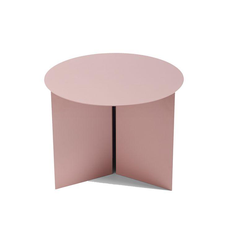hay beistelltisch slit round rosa couchtisch. Black Bedroom Furniture Sets. Home Design Ideas