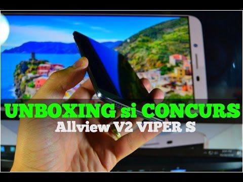Concurs si unboxing Allview V2 VIPER S, androidro.ro