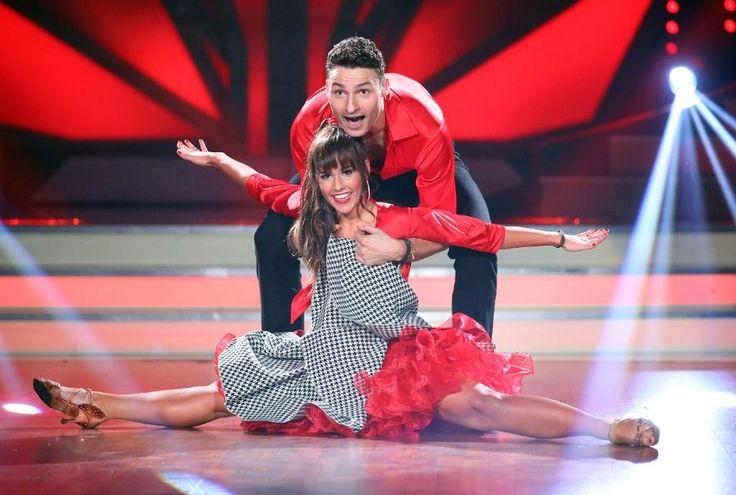Sarah Lombardi(mit Tanzpartner Robert Beitsch)wird jetzt schon als große Siegerin von