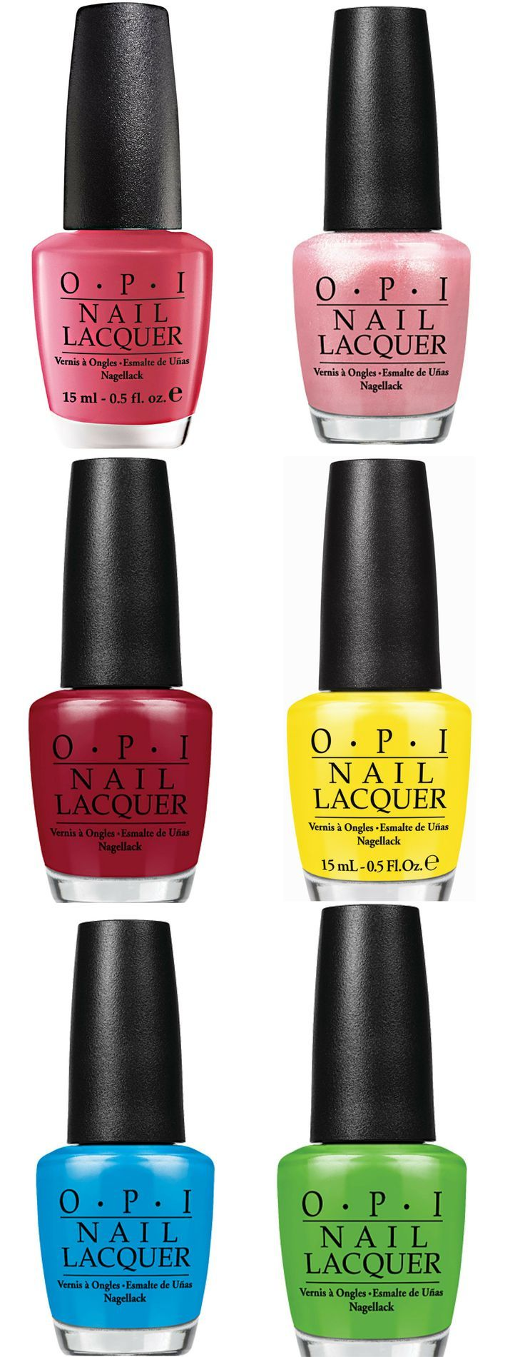 Bestseller Nail Polish From All Over The World - O.P. I.